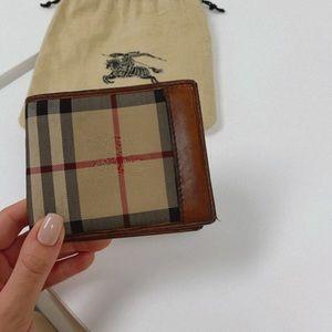 Horseferry Check Bi-Fold Burberry Wallet
